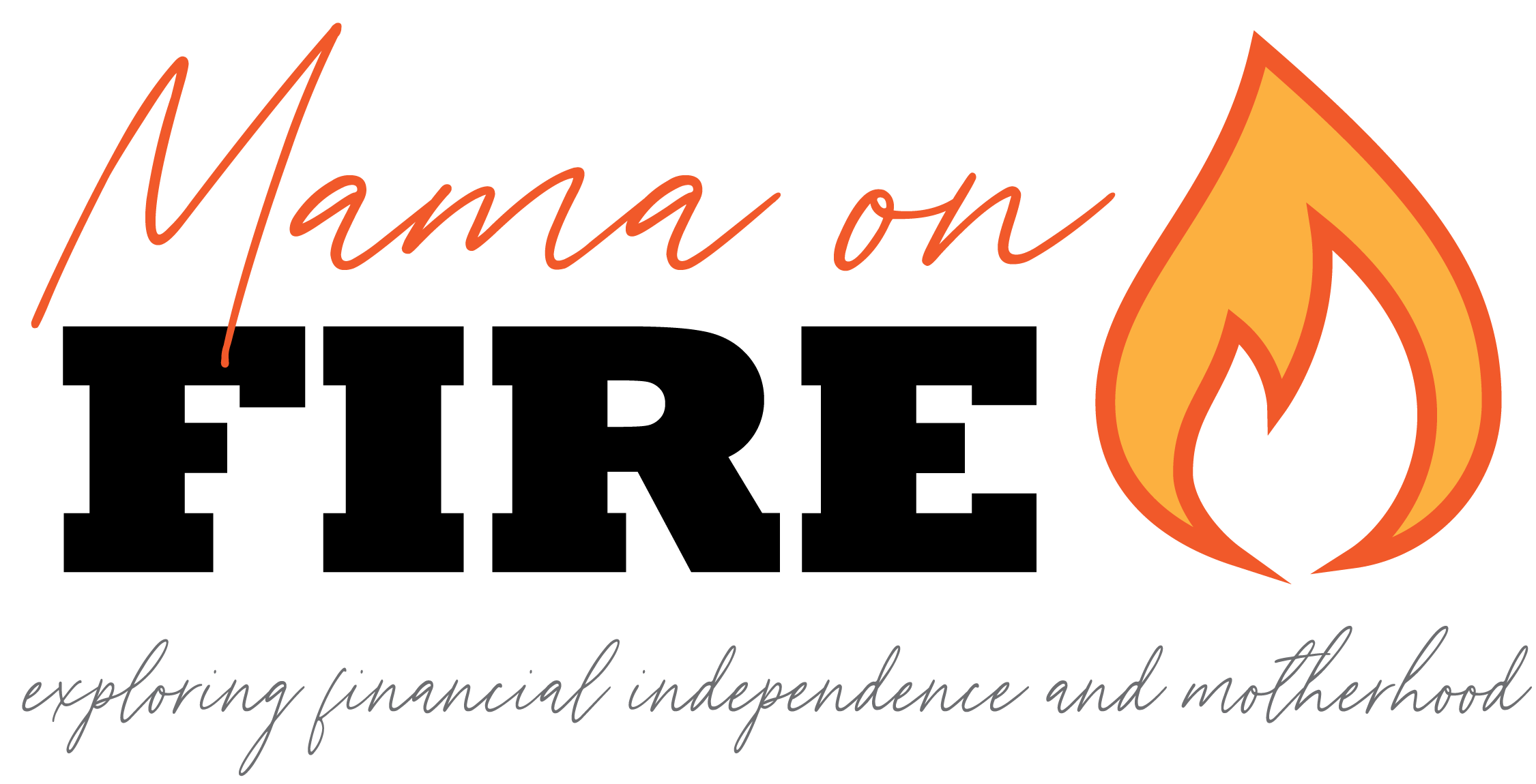 Mama On FIRE logo